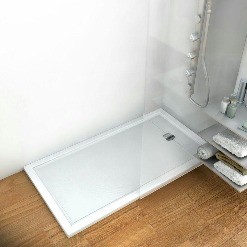 Plato ducha acr lico balear blanco aquore for Plato de ducha acrilico