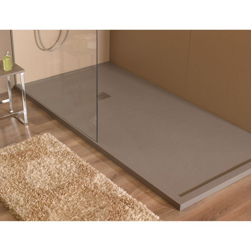 plato ducha resina acquabella base slate acquabella. Black Bedroom Furniture Sets. Home Design Ideas