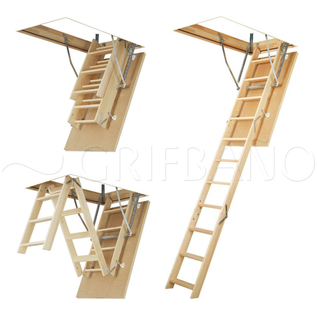 Escaleras para buhardilla excellent de caracol recta for Escaleras yuste