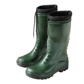 Botas goma altas verdes...