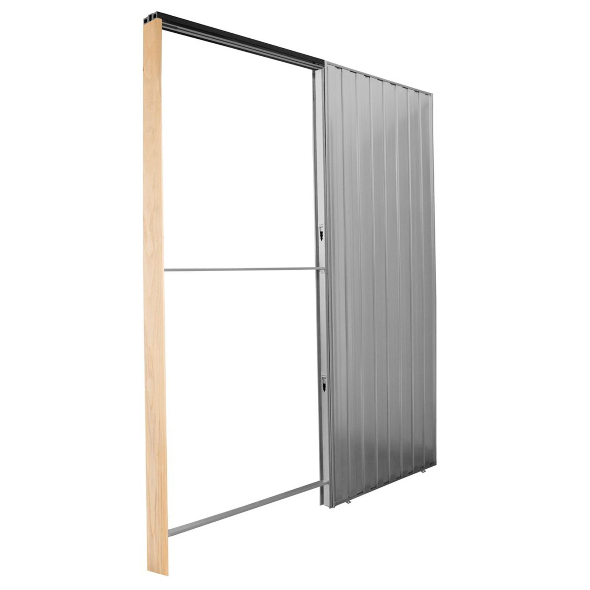 Casoneto puerta corredera pladur finest tarifa casoneto - Puerta corredera doble ...