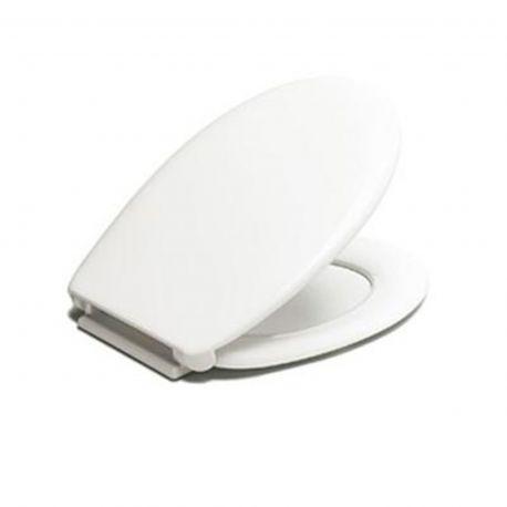 Asiento inodoro Estoli REINA blanco - 85001966