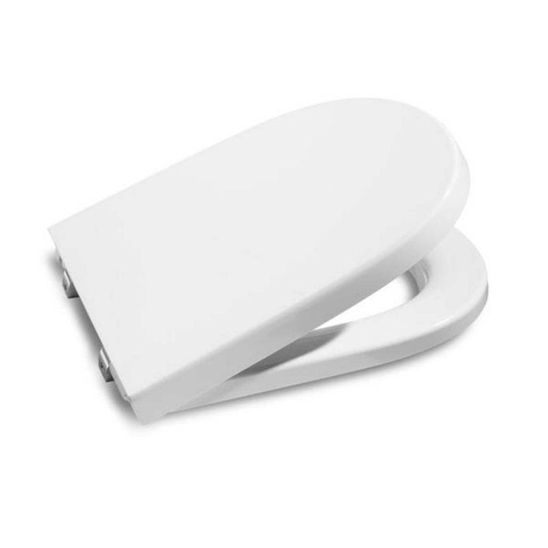Asiento inodoro roca meridian compacto blanco a8012ab004 for Inodoro meridian compacto