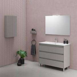 Mueble baño suspendido 2 cajones SANSA con lavabo SLIM - Royo Group