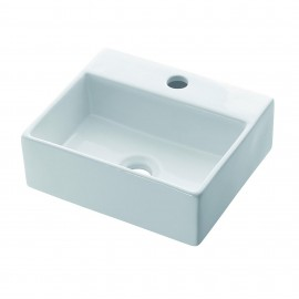 Lavabo porcelana BÉRGAMO - 0010B