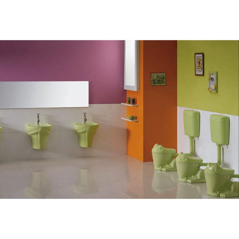 Inodoro infantil frogy fossil natura - Inodoro y lavabo en uno ...