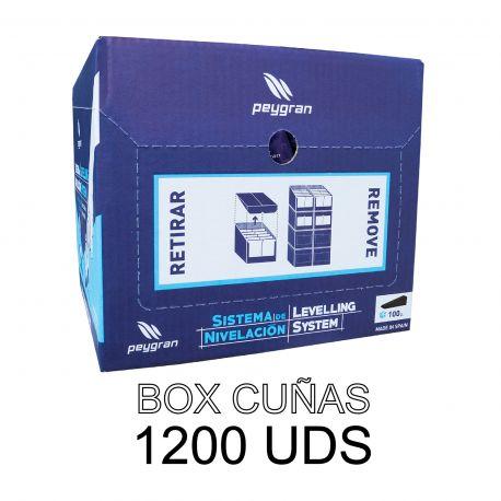 Cuña nivelación (Box 1.200 ud.)