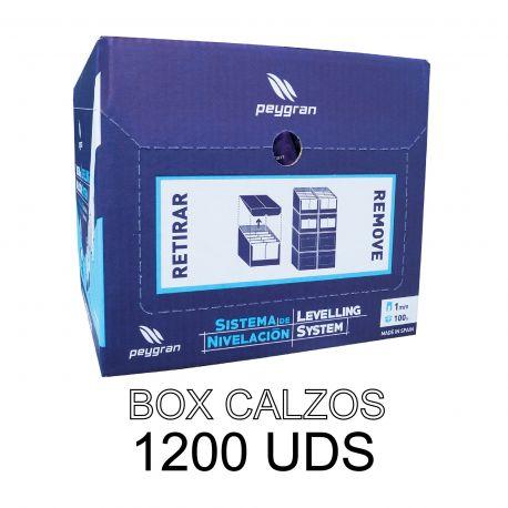 Calzo nivelación (Box 1.200 ud.)