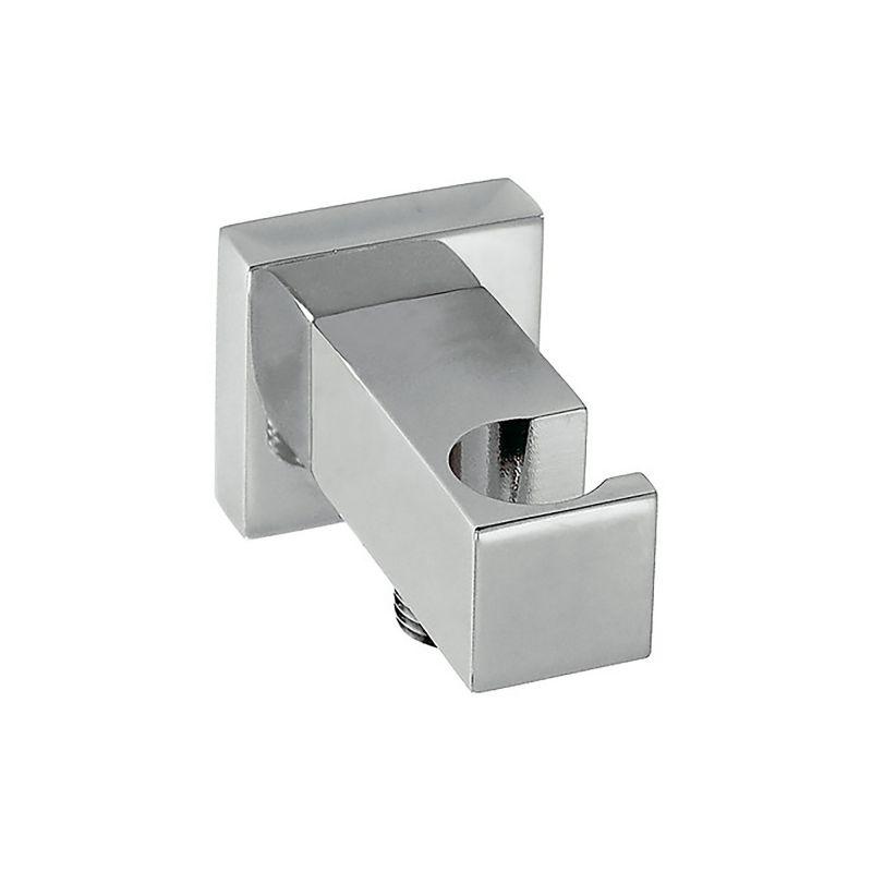 Soporte ducha c toma tres cuadrado cromo 00618201 tres for Soporte ducha