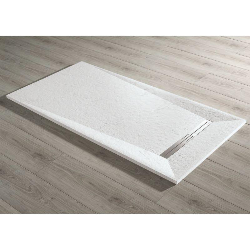 plato ducha resina acquabella prisma slate acquabella. Black Bedroom Furniture Sets. Home Design Ideas