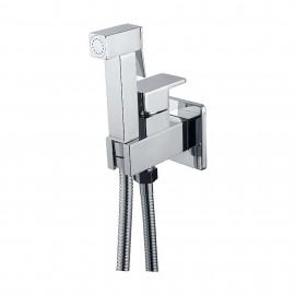 Monomando empotrar para WC bidé IMEX MUNICH cromo - RDM001wc