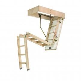 Escalera escamoteable de tramos C3T ISO madera