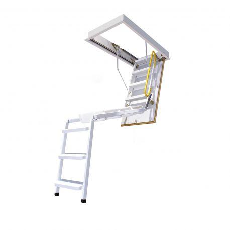 Escalera escamoteable de tramos 3M-3 ISO metálica lacada