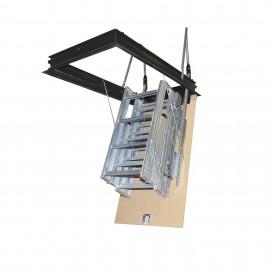 Escalera escamoteable de tramos PK-4 metálica galvanizada