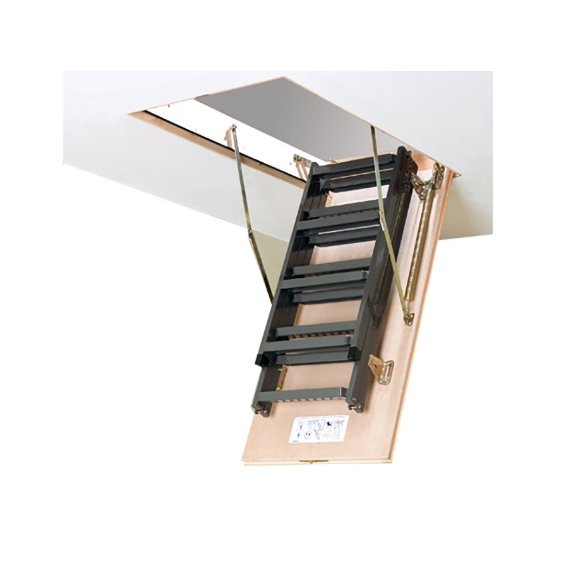 Escalera escamoteable de tramos met lica lms smart fakro for Escaleras escamoteables