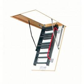 Escalera escamoteable de tramos metálica LMK KOMFORT - Fakro