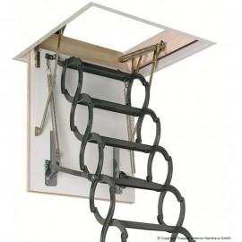 Escalera escamoteable de tijera metálica LST - Fakro