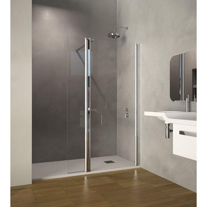Mampara ducha chicago frontal doccia - Mamparas de ducha de diseno ...