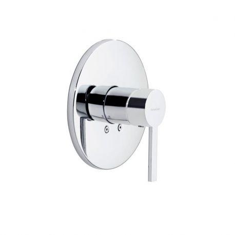 Monomando ducha emp. 1-vía DRAKO cromo - 3318S