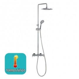 Conjunto ducha termostático BLAUTHERM cromo - 9448RP240