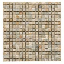 Malla Mosaico Piedra Natural MOS-001 IRIS 1,5x1,5 - Tercocer