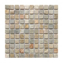 Malla Mosaico Piedra Natural MOS-002 IRIS 2,5x2,5 - Tercocer