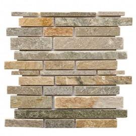 Malla Mosaico Piedra Natural MOS-005 IRIS MURETTO - Tercocer