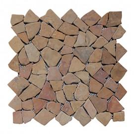 Malla Mosaico Piedra Natural MOS-104 ONIX - Tercocer