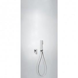 Kit monomando ducha emp. LOFT-TRES cromo - 20017702