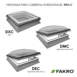 Ventana para cubierta plana FAKRO Mod. TIPO C