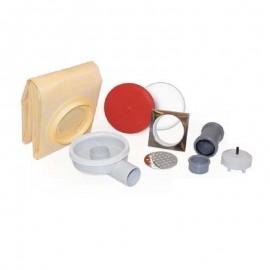 Kit SUMIFLATLUXE-DRY50P 240/240 11x11 cm. (sumidero+lámina)