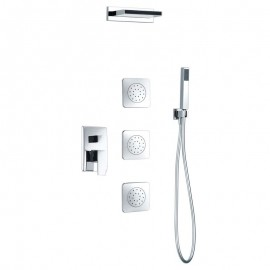 Kit monomando de ducha empotrado FORMENTERA - Imex - GPE008