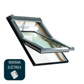 Ventana para tejado pivotante eléctrica ROTO Serie Designo R4 Mod. R45RotoTronic