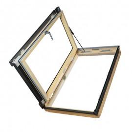 Ventana para tejado apertura lateral reversible FAKRO Mod. FWP U3