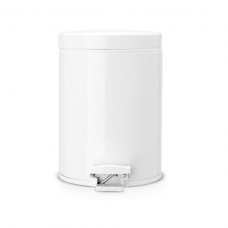 Papelera BRABANTIA 5 L. blanco - 283420