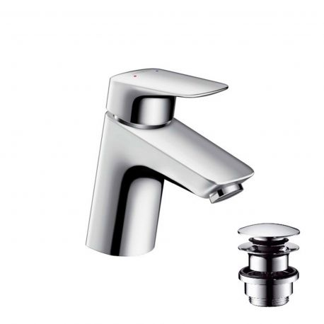 Monomando lavabo v/click LOGIS cromo - 71077000
