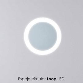 Espejo LOOP luz LED - Avila:Dos