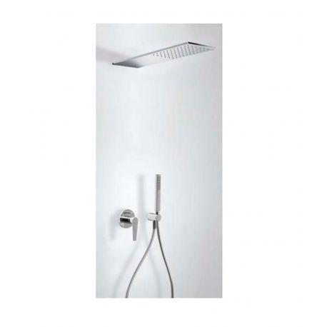 Kit monomando ducha emp. 2-vías CLASS-TRES ducha INOX cromo - 20518003
