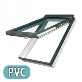 Ventana para tejado proyectante-giratoria FAKRO Mod. PPP-V U3 PVC