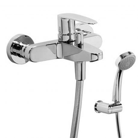 Monomando baño-ducha FLAT-TRES cromo - 20417001