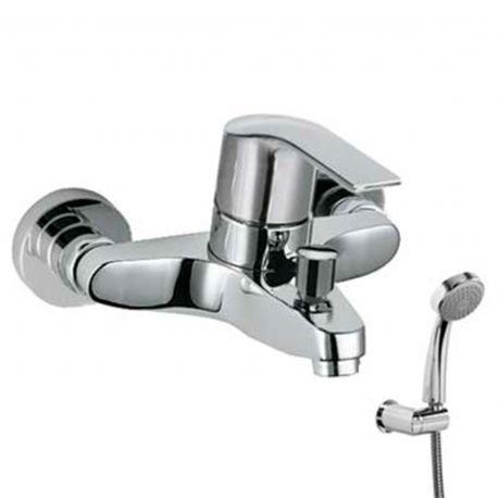 Monomando baño-ducha K-TRES cromo - 06917002