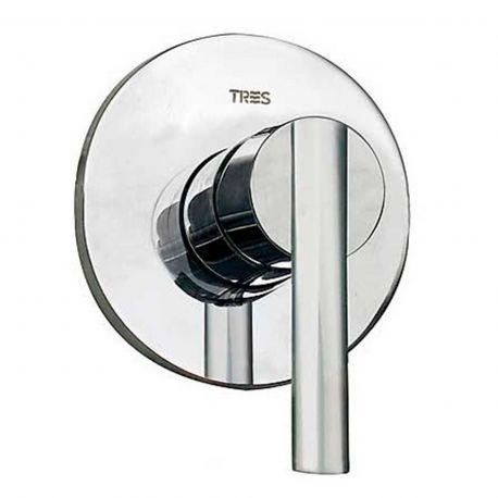 Monomando ducha emp. 1-vía LEX-TRES cromo - 18117705