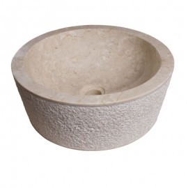Lavabo THAI marfil brillo - TH001BLB