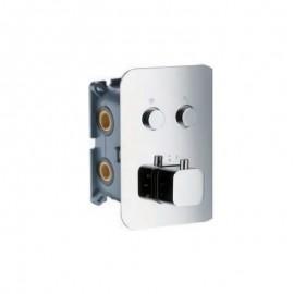 Empotrado termostático 2 vías - Imex - CTP02V