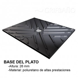 Plato de ducha invisible LEVEL - Revestech