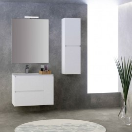 Mueble de baño suspendido KLOE 2C 1P - Creaciones Campoaras