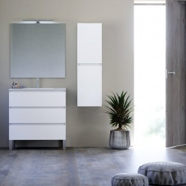 Mueble de baño suspendido KLOE 3C - Creaciones Campoaras