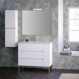 Mueble de baño suspendido KLOE 3C 1P - Creaciones Campoaras
