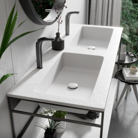 Lavabo integrado en encimera INTEGRA 2 SF - Acquabella